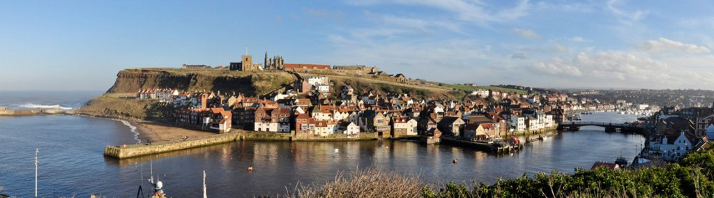 Panoramic Shot of Whitby