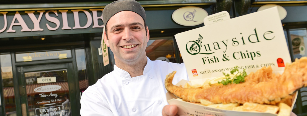 Fish and Chip Packaging and Catering Disposables - Fuscos of Whitby