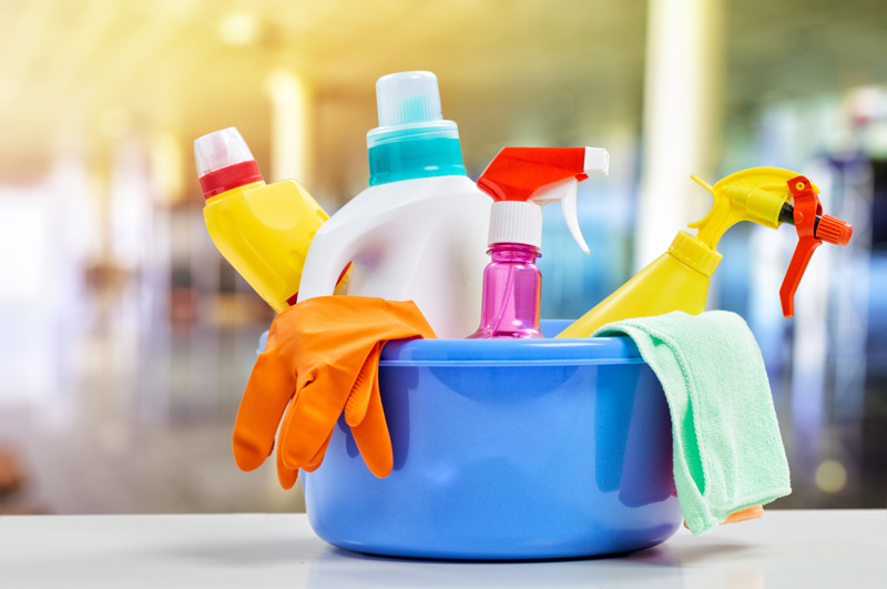 Kitchen Cleaning Chemicals